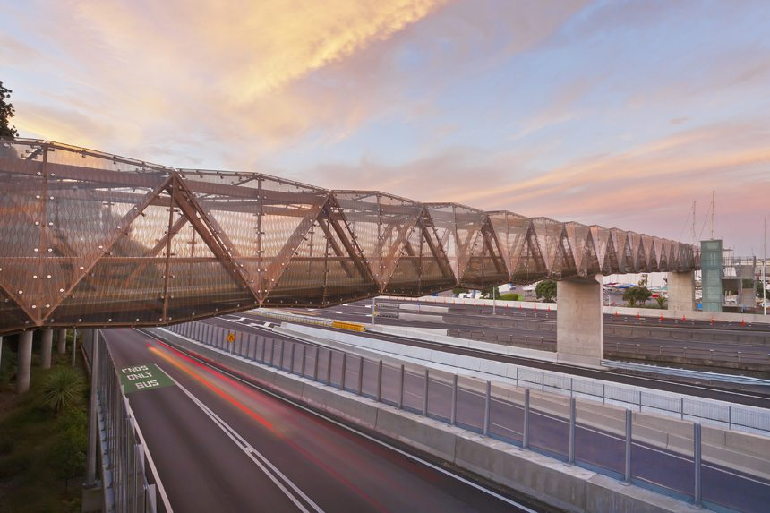 Victoria Park Tunnel Overbridge - D&H Steel Construction