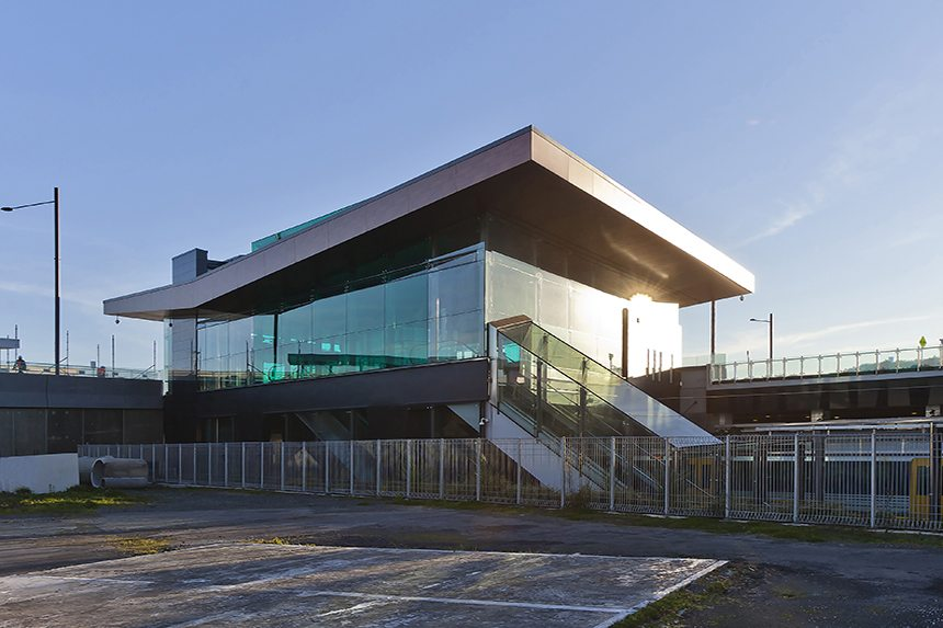 Panmure Train Station - D&H Steel Construction
