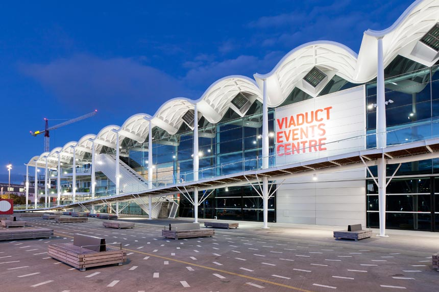 Viaduct Events Centre - D&H Steel Construction